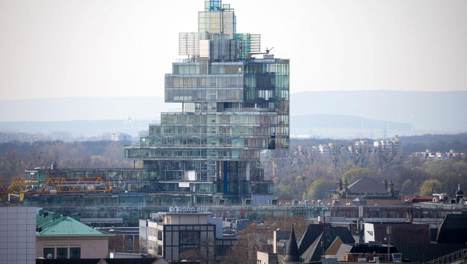 Verwaltungsgebäude der Norddeutschen Landesbank in Hannover: Schlechtes Abschneiden beim Stresstest