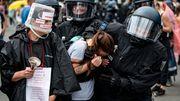 Überrannte Absperrungen, Angriffe auf Polizisten