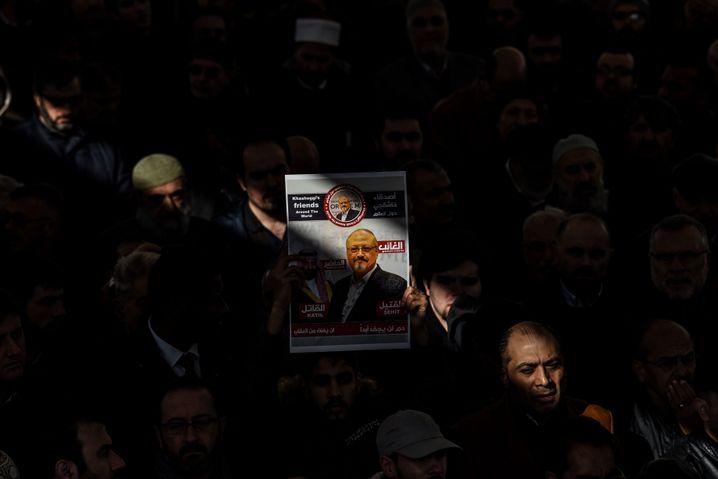 Trauerfeier für Khashoggi in Istanbul