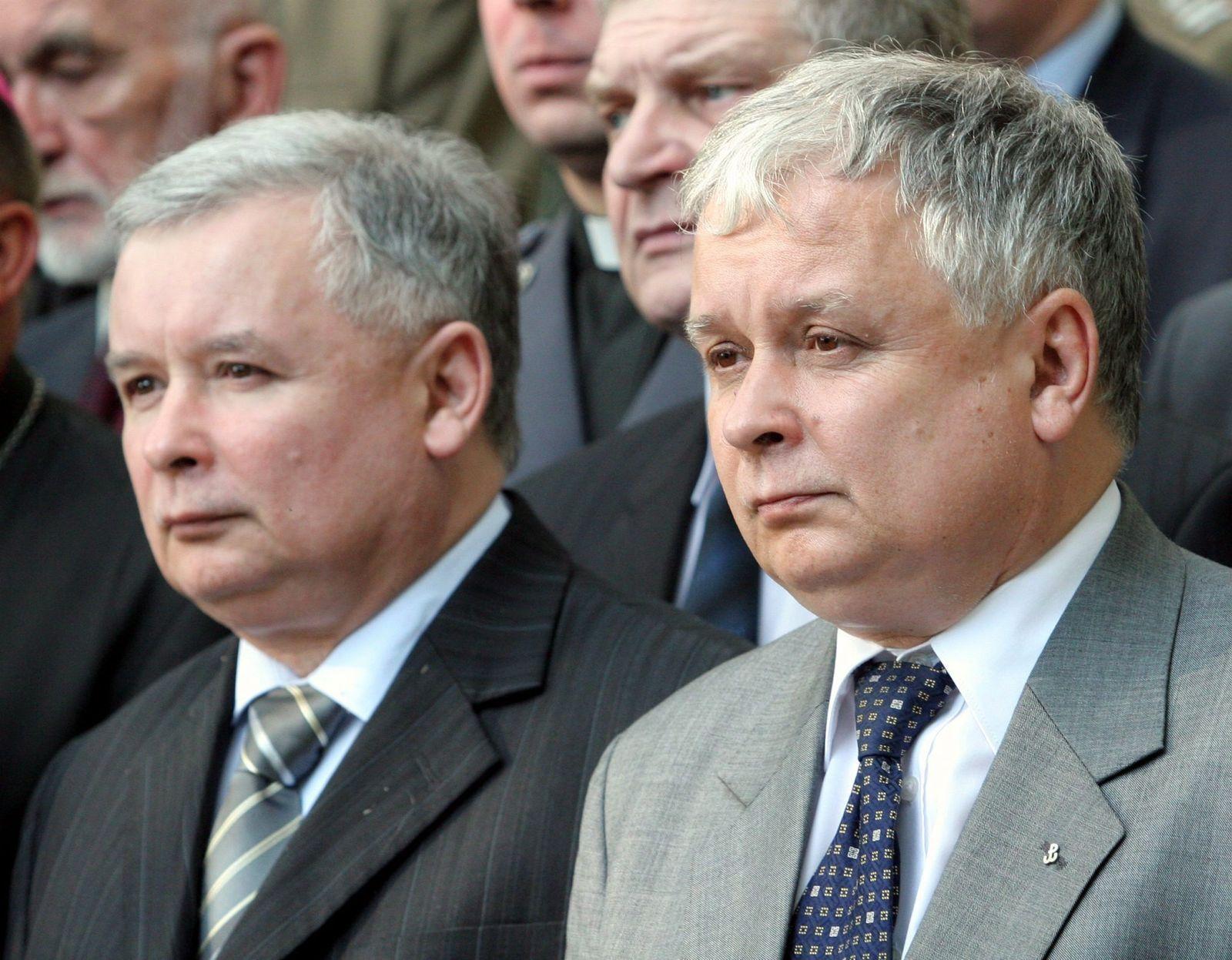 Lech Kaczynski/ Jaroslaw Kaczynski