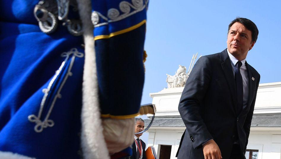 Matteo Renzi in Bratislava