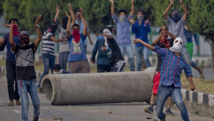 Photo Gallery: The Kashmir Rebels' Rage