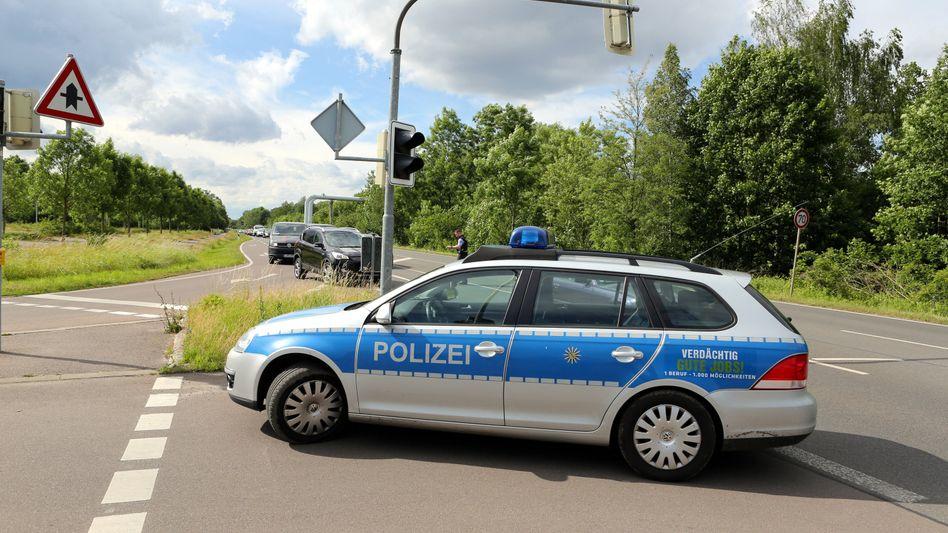 Polizei-Einsatz (Archiv)