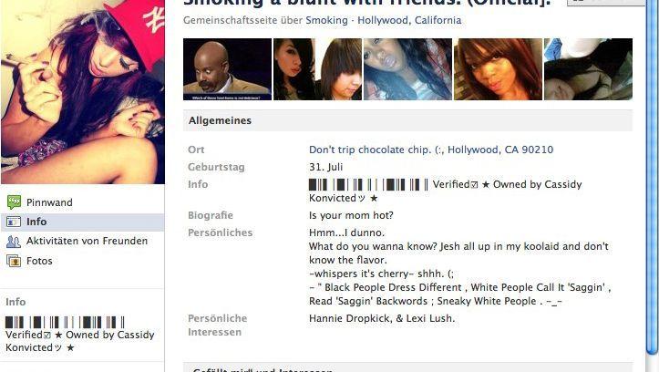 Facebook-Seite für Joint-Freunde: Kiffen ist okay, blanke Brüste nicht