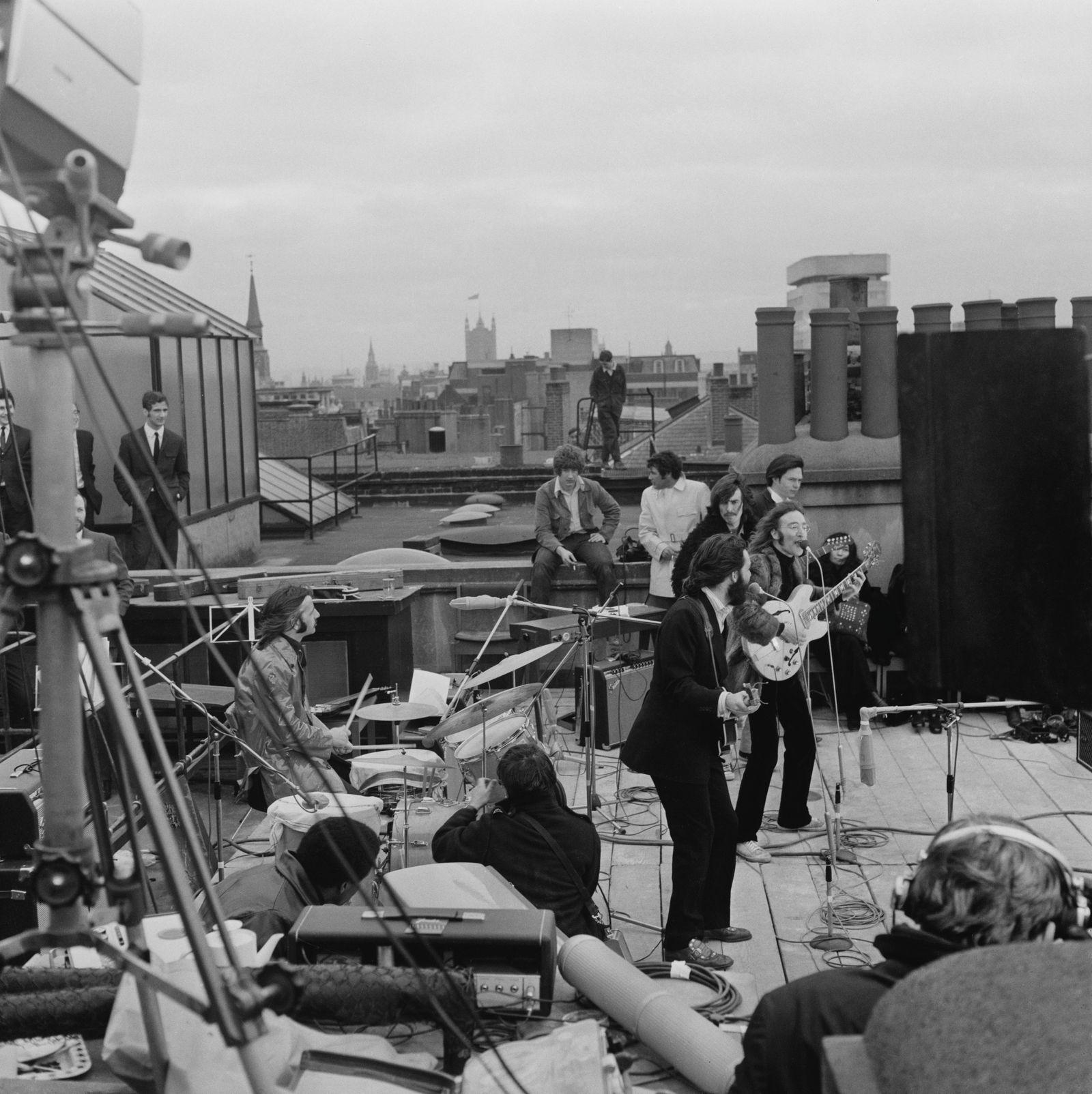 The Beatles' rooftop concert