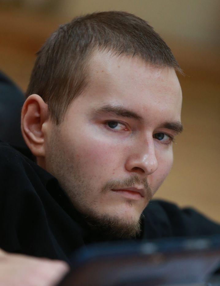 Freiwilliger: Der 30-jährige russische Programmierer Waleri Spiridonow