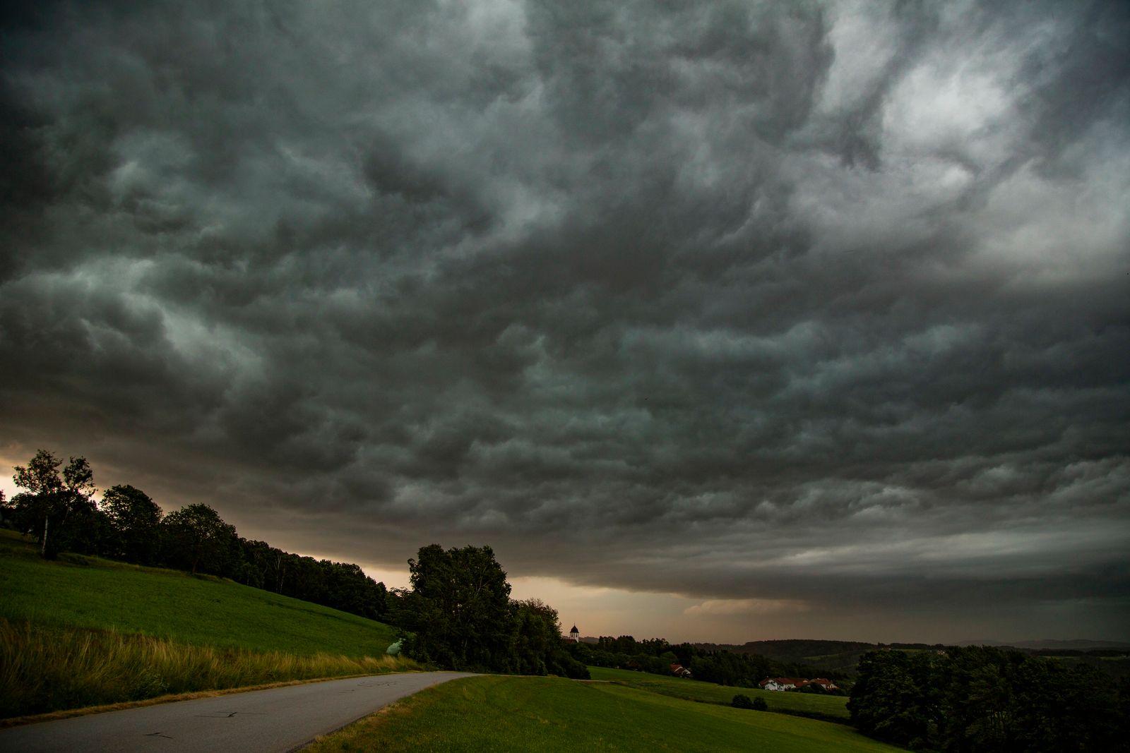 Unwetter in Bayern