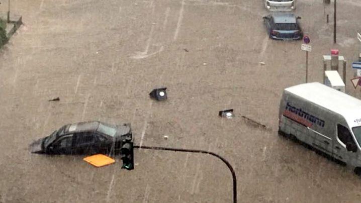 Fotostrecke: Heftige Unwetter in NRW