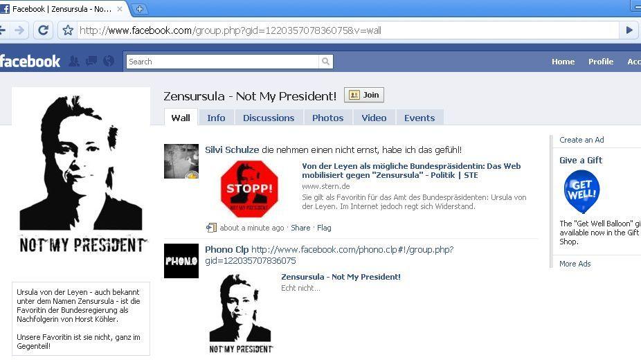 Facebook-Protestseite: 7000 Mitglieder binnen weniger Stunden