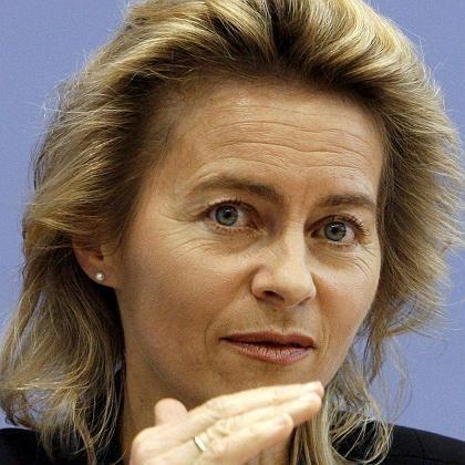 """Familienministerin von der Leyen: """"Schwarze Schafe sollen wissen, dass wir es ernst meinen"""""""
