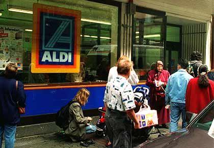 Aldi-Filiale in Frankfurt: Preiskampf nicht erfolgreich
