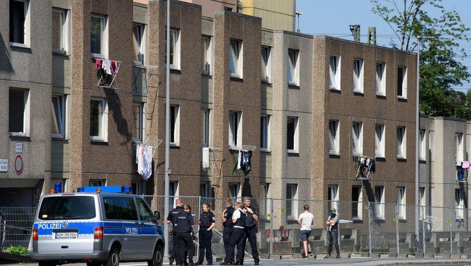 Groner Landstraße in Göttingen (Archivbild): Ende Juni kam es zu Ausschreitungen