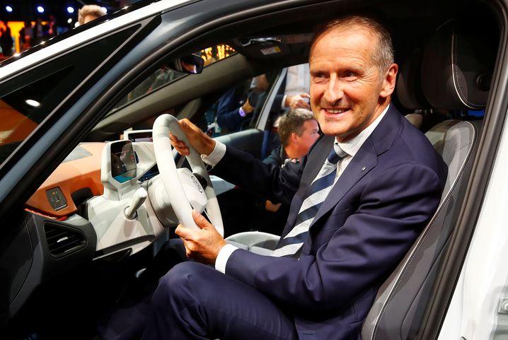 VW-Chef Diess im ID.3: Hohn und Spott