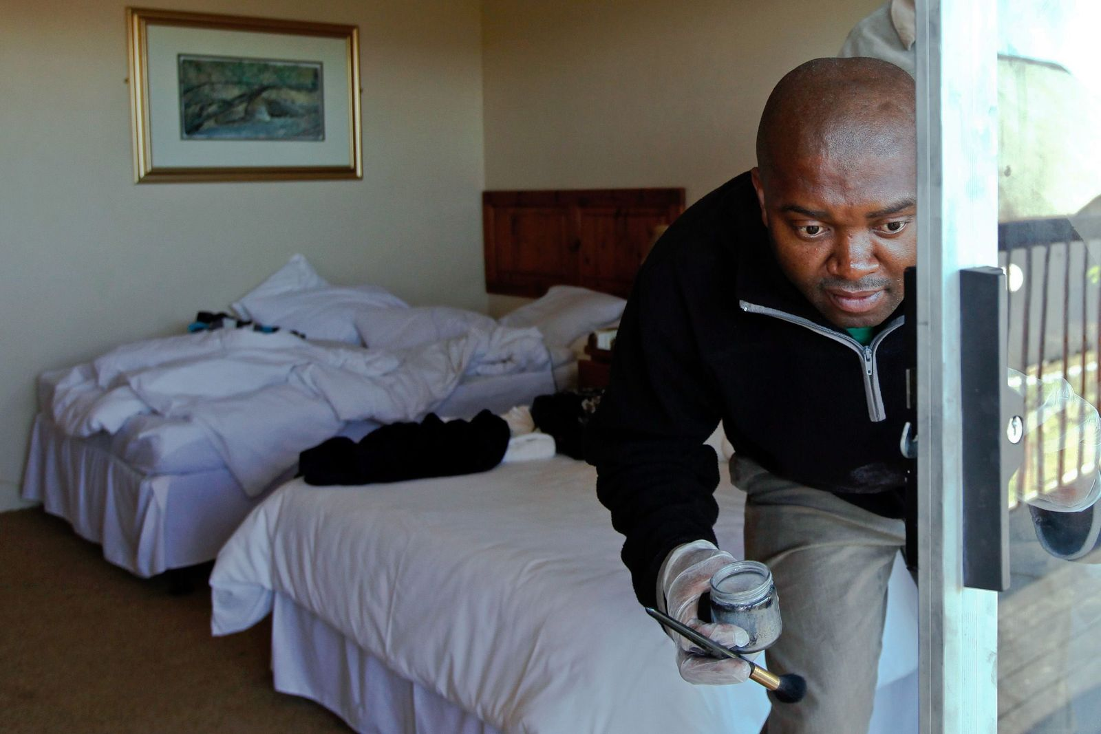 Südafrika / Journalisten ausgeraubt