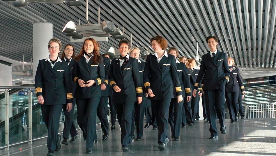 """Pilotinnen der Lufthansa: """"Amoktrips sind Männersache"""""""