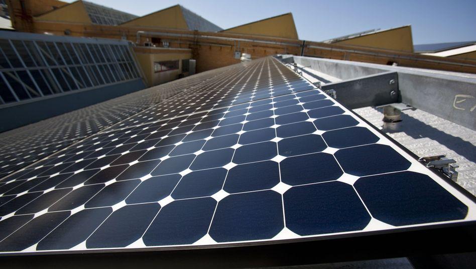 Solaranlage in Kalifornien: Deutschland profitiert vom amerikanischen Ökoboom