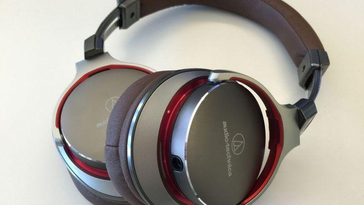 Kopfhörer im Test: Die Audio-Technica MSR7 in Bildern