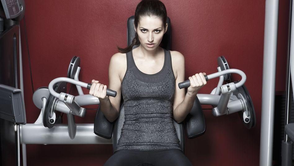 Training im Fitnessstudio: Manchmal besonders befriedigend