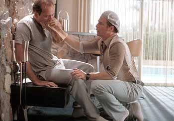 Altgediente Antagonisten: Roy (Nicolas Cage) und Frank (Sam Rockwell)