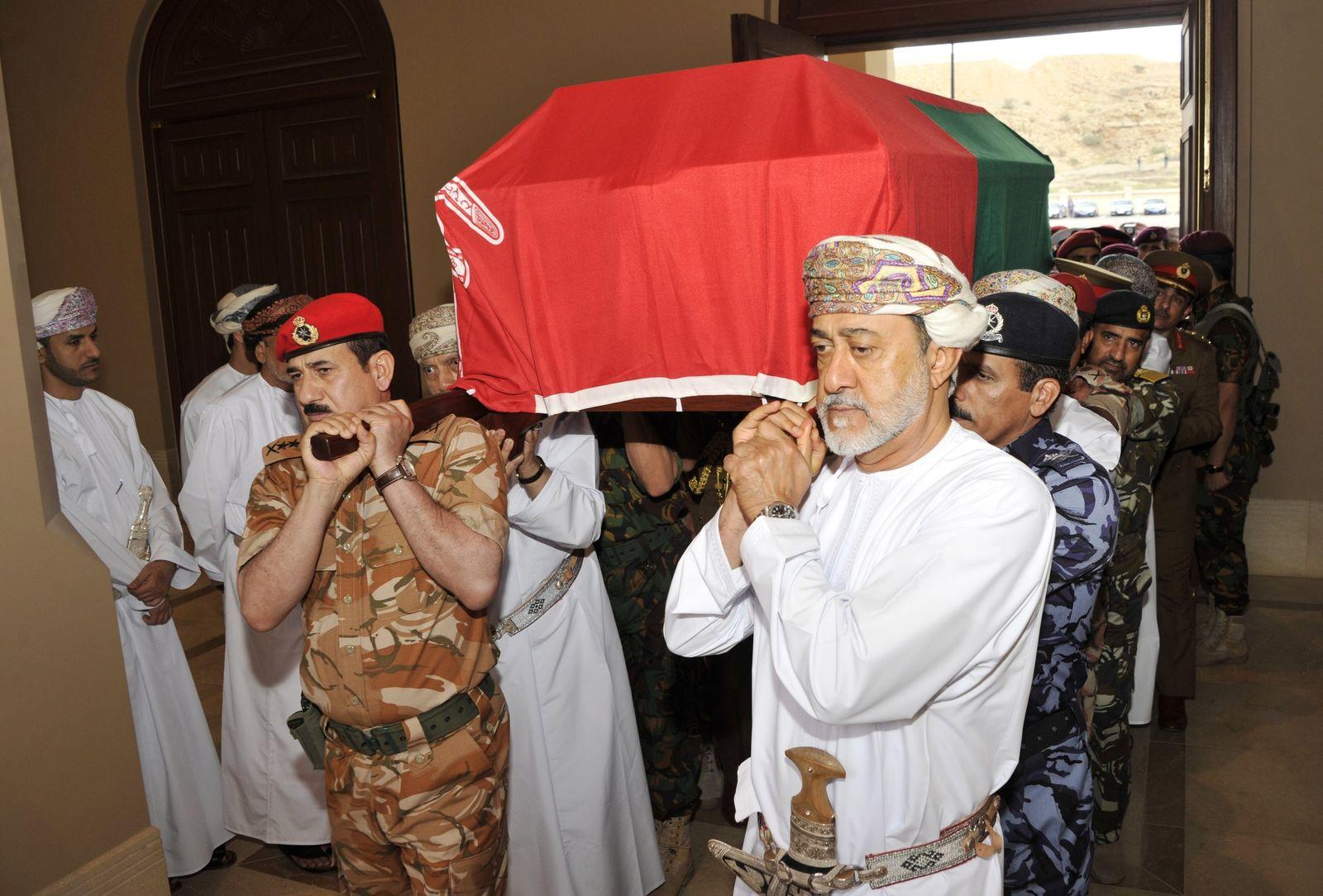 Sultan von Oman gestorben
