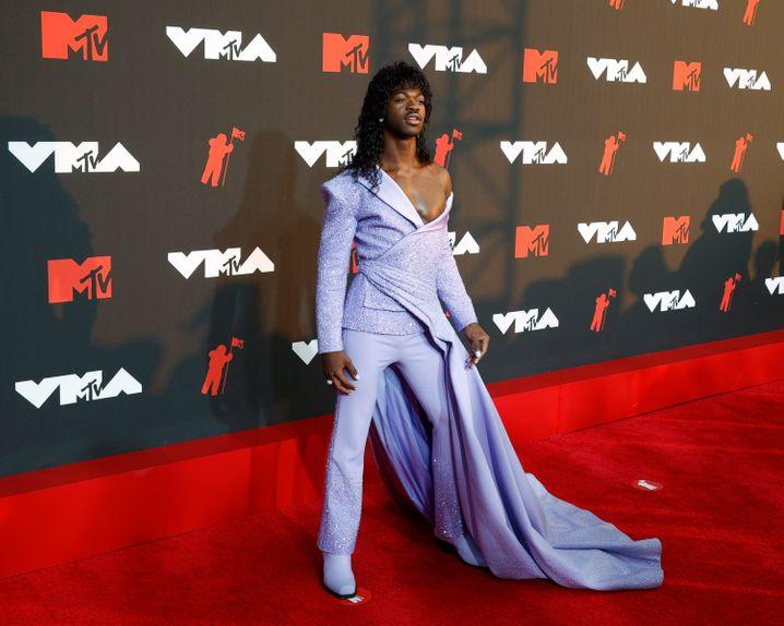 Lil Nas X bei den MTV Video Music Awards 2021: Wie eine fluide Figur aus einem Videospiel