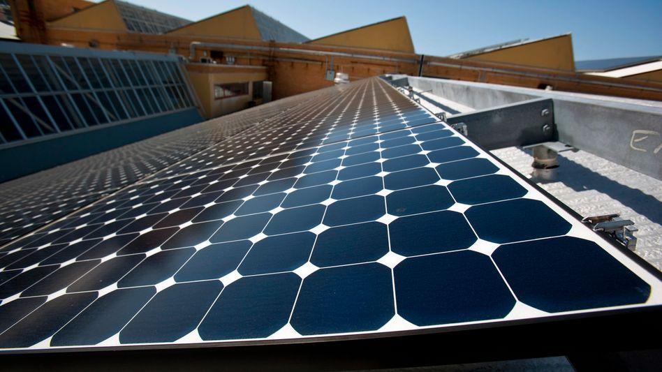Solarzellen: Gewaltiger Zubau in Deutschland