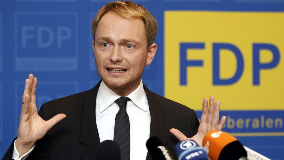 """FDP-Spitzenkandidat Lindner am Freitagabend in Mettmann: """"Fehdehandschuh aufnehmen"""""""