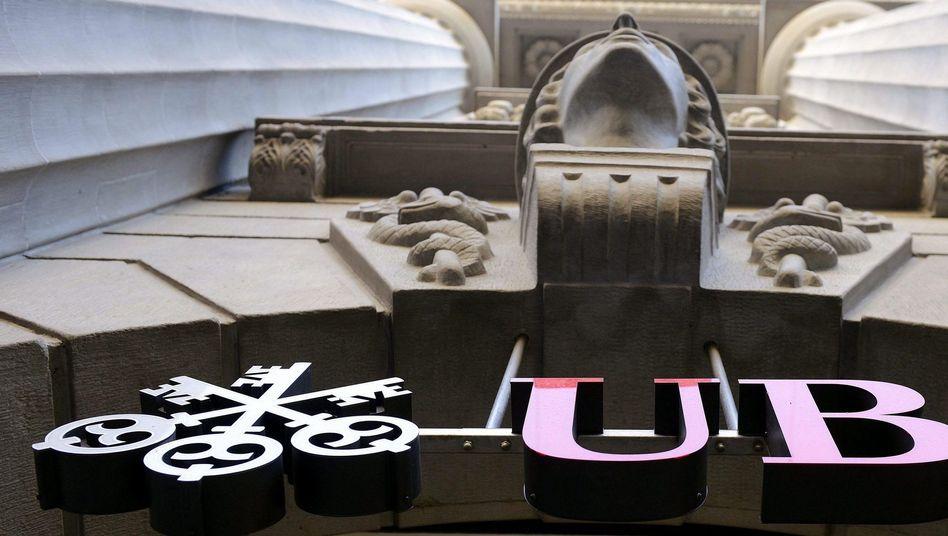 Logo der Schweizer Großbank UBS