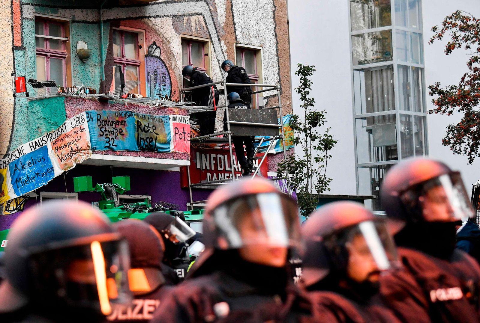 GERMANY-SQUATTING-LEIBIG-EVICTION