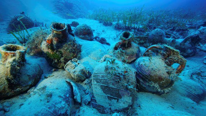 Wracks aus der Antike: Schiffsfriedhof in der Ägäis