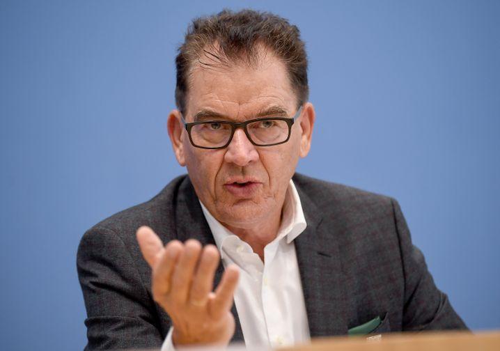 Entwicklungshilfeminister Müller