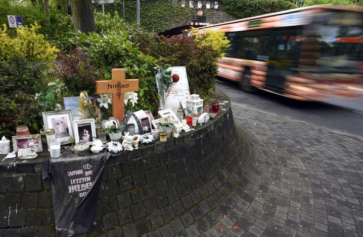 Gedenken an Niklas P. in Bonn (Archivbild)