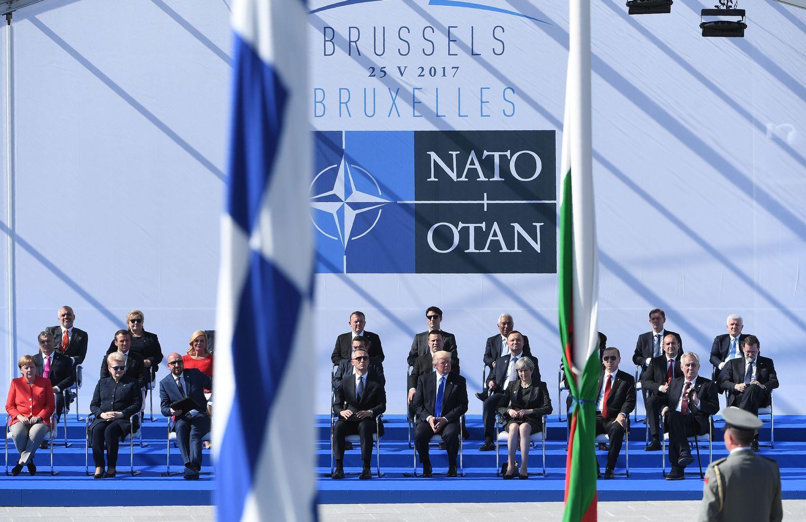 SPIN DER SPIEGEL 22/2017 S. 28 Nato Der Wütende in Ankara