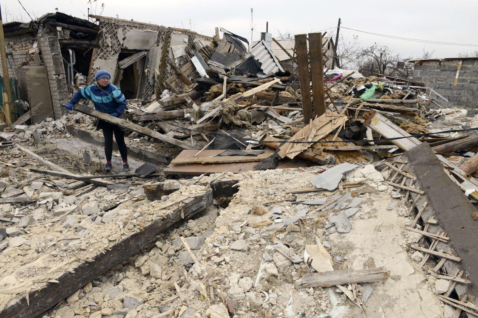 Ukraine/ Zerstörungen