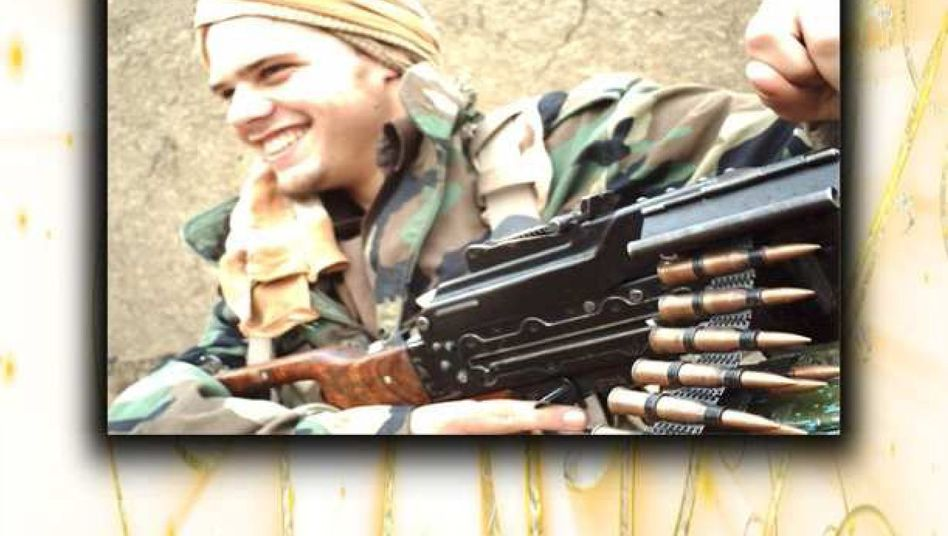 """""""My Path to Paradise"""": The cover of a German jihadist's memoirs."""
