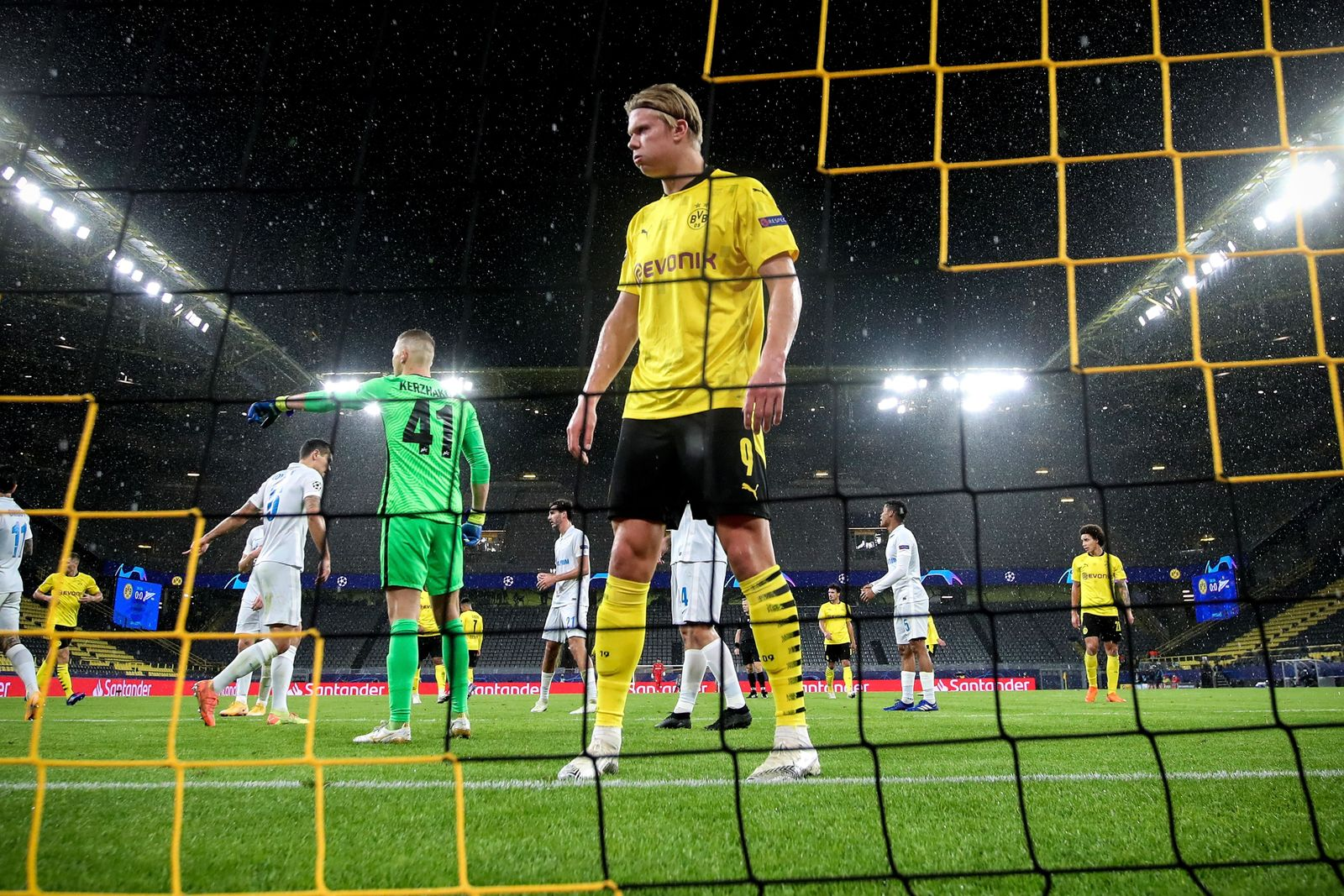 Borussia Dortmund vs Zenit St. Petersburg, Germany - 28 Oct 2020
