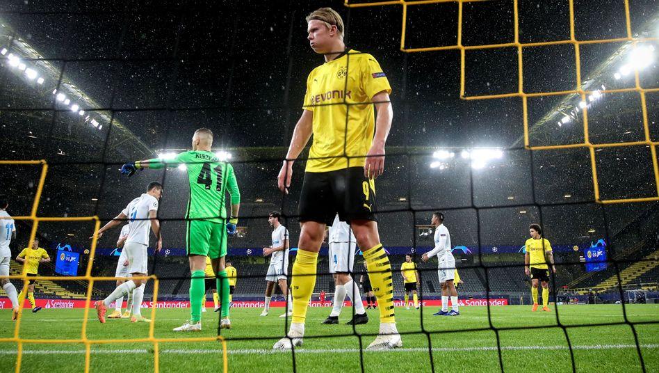 Bälle erobern, lauern, treffen: Erling Haaland verkörpert das Dortmunder Spiel besonders