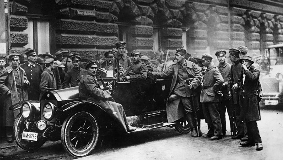 """Revolution und Gegenputsch: München war nun """"die Stadt Hitlers"""""""