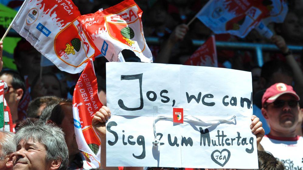 Zweite Liga: Augsburger Aufsteiger mit Anlauf