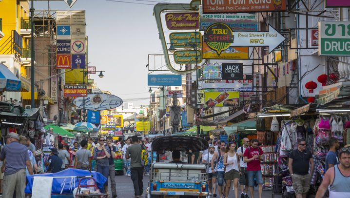 Khao San Road in Bangkok: Same same but different