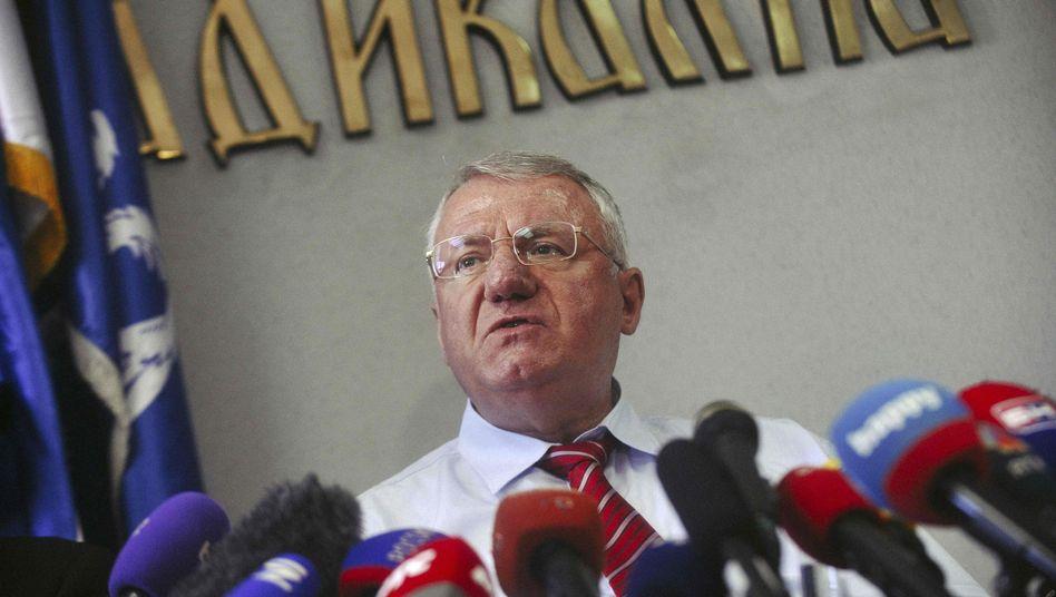 Ultranationalist Vojislav Seselj