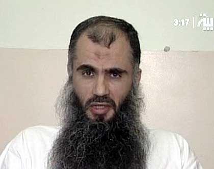 Abu Katada: Botschaft an die Geiselnehmer