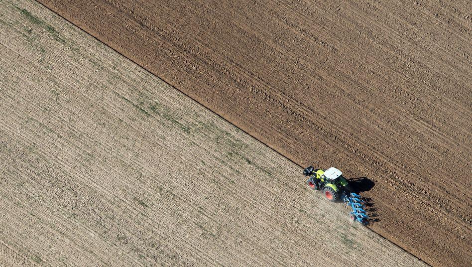 Feldarbeit in Nordrhein-Westfalen