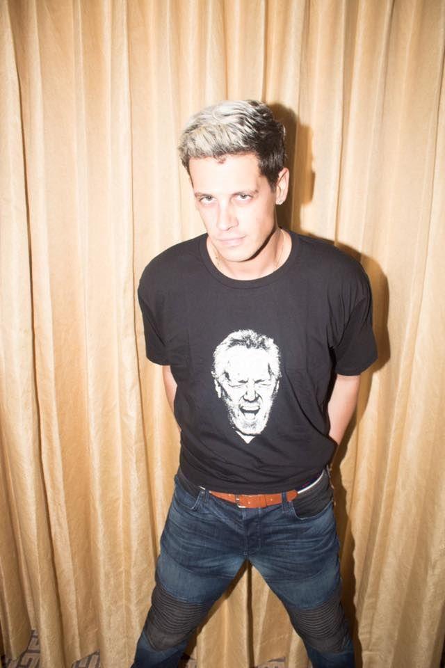 """Provokateur Yiannopoulos mit Breitbart-T-Shirt: """"Der einzige coole Konservative des Planeten"""""""