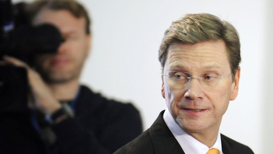 FDP-Chef Westerwelle: Innenpolitische Vorstellung im Auswärtigen Amt