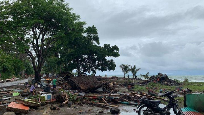 Indonesien: Tsunami trifft Java und Sumatra