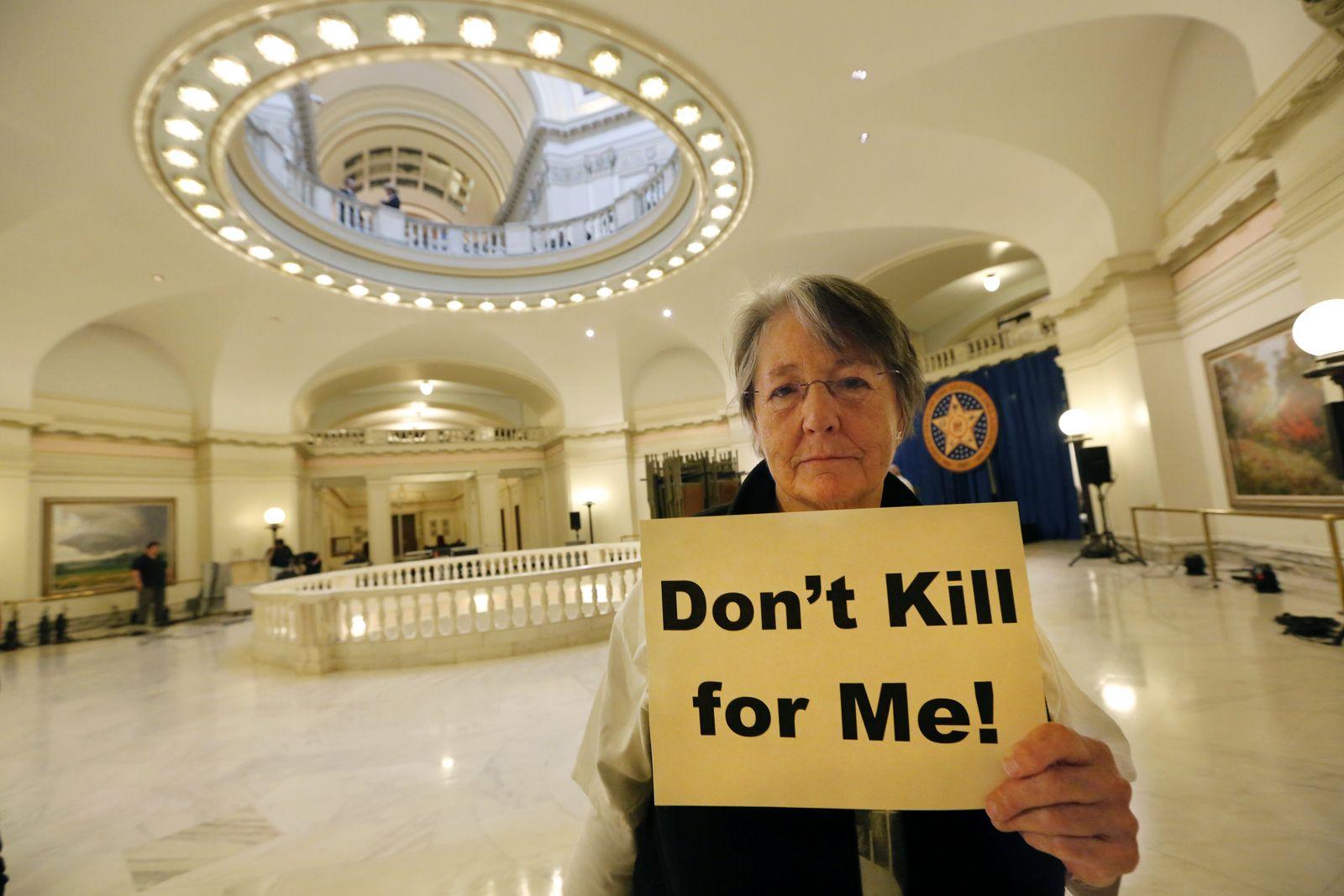 Todesstrafe / Protest / Oklahoma