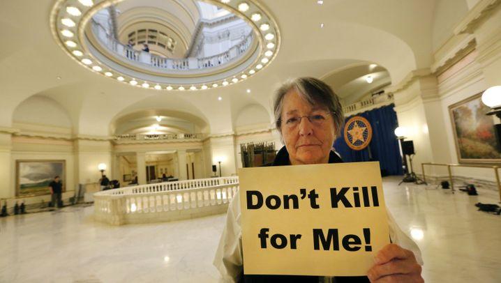 Grausam missglückte Hinrichtung: Auftrieb für Gegner der Todesstrafe