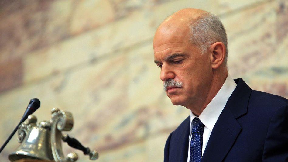 Regierungschef Papandreou: Neue Angst um Griechenland