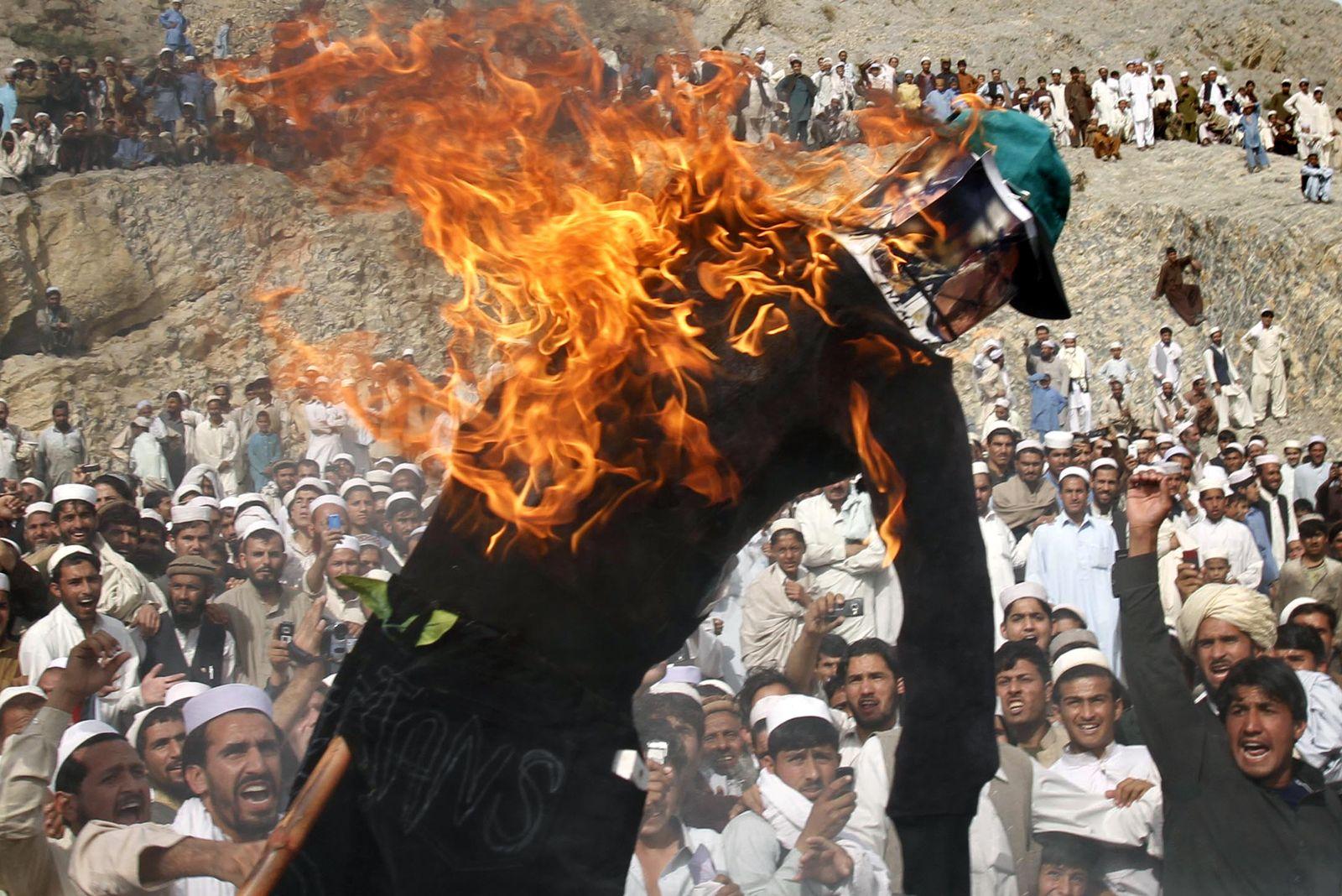 Afghanistan / Proteste gegen Koran-Verbrennung